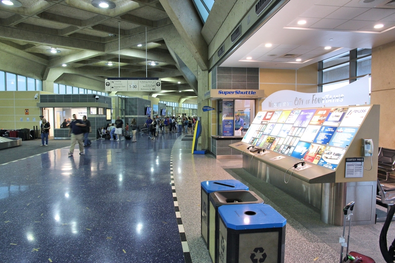 Kansas City International Airport mostly serves regional and domestic flights.